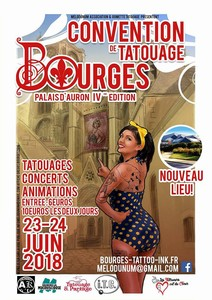 CONVENTION TATOUAGE DE BOURGES