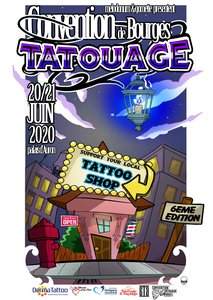 CONVENTION TATOUAGE DE BOURGES (ATTENTION DATE REPORTÉE)